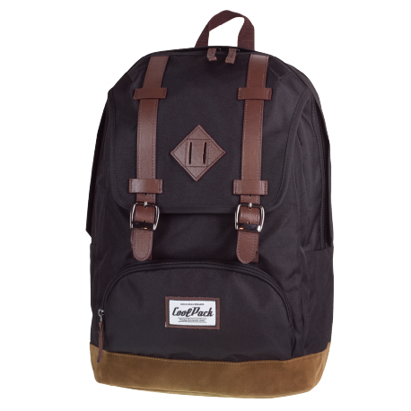 CITY Plecak szkolny BLACK&SUEDE (1019) CoolPack CP