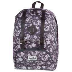 CITY Plecak szkolny BLACK&WHITE FLOWERS (1022) CoolPack CP