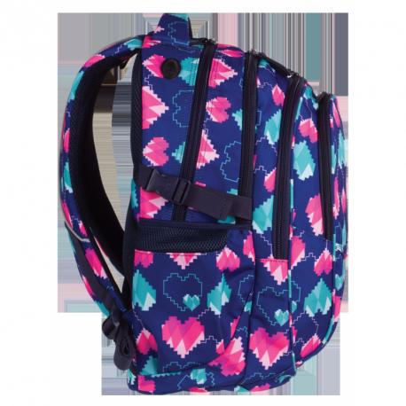 FACTOR Plecak szkolny PIXEL HEARTS 29 L (1009) CoolPack CP