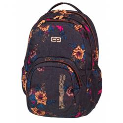 SMASH Plecak szkolny GREY DENIM FLOWERS 26 L (1066) CoolPack CP