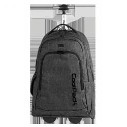SUMMIT Plecak na kółkach SNOW BLACK 36 L (863) CoolPack CP