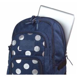 258065c979e61 UNIT Plecak szkolny SILVER DOTS BLUE 26 L (704) CoolPack CP