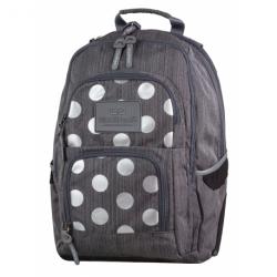 UNIT Plecak szkolny SILVER DOTS GREY 26 L (702) CoolPack CP
