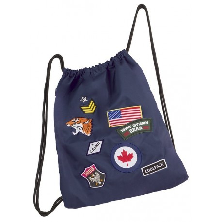 Worek CoolPack Sprint Badges Navy