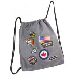 Worek CoolPack Sprint Badges Grey
