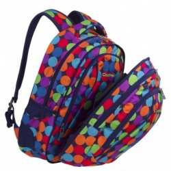 Plecak młodzieżowy CoolPack CP COMBO BUBBLE SHOOTER kolorowe kulki - 2w1 - A493