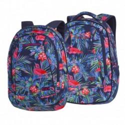 Plecak młodzieżowy CoolPack CP COMBO PINK FLAMINGO flamingi - 2w1 - A481