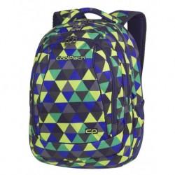 Plecak młodzieżowy CoolPack CP COMBO PRISM ILLUSION kolorowe trójkąty - 2w1 - A505