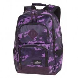 369fc81001d90 Plecak młodzieżowy CoolPack CP UNIT FLOCK CAMO VIOLET fioletowe moro - A554