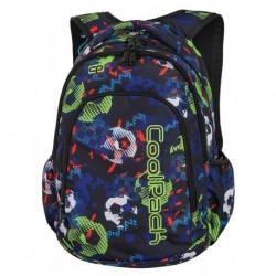 PRIME Plecak szkolny do klasy 1, 2, 3, CoolPack CP - FOOTBALL 23L - A188 + COOLER BAG gratis!