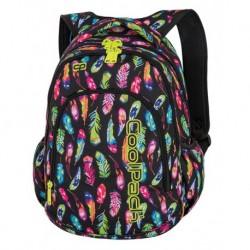 3665ea8c03a2f PRIME Plecak do szkoły CoolPack CP - dla dziewczynki niezwykłe kolorowe  pióra FEATHERS 23L - A233