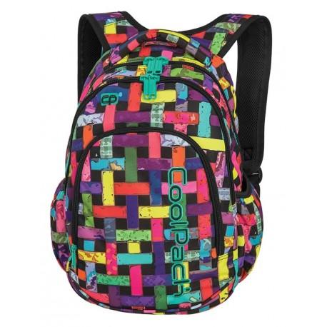 fadcb76fd02e0 PRIME Plecak do szkoły CoolPack CP - dla dziewczynki kolorowa apetyczna  przeplatanka RIBBON GRID 23L -