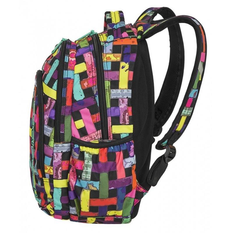 10ed13dd1a554 ... PRIME Plecak do szkoły CoolPack CP - dla dziewczynki kolorowa apetyczna  przeplatanka RIBBON GRID 23L ...
