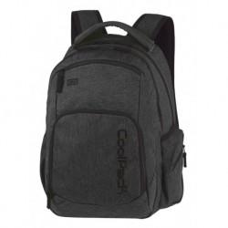 Plecak młodzieżowy COOLPACK CP BREAK SNOW BLACK/SILVER czarny denim A327
