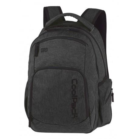 Plecak młodzieżowy COOLPACK CP BREAK SNOW BLACK/SILVER czarny denim A327 - Cool-pack.pl