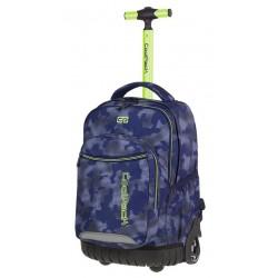 185cab313ab8 Plecak na kółkach CoolPack CP SWIFT MISTY GREEN Niebieski z zielonym A41 +  GRATIS