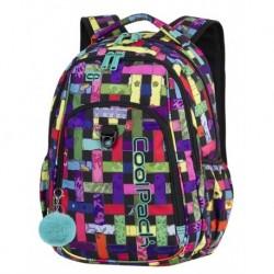 763bb43ddbcff STRIKE Plecak do szkoły CoolPack CP - dla dziewczyny kolory wstążki  szarlotka RIBBON GRID 26L -