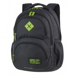 Plecak młodzieżowy CoolPack CP DART GREY/LEMON szary - A397