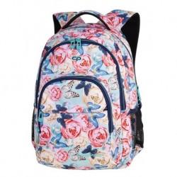 754e3c8a65aef BASIC PLUS Plecak do szkoły CoolPack CP - dla dziewczyny romantyczne  magiczne róże piwonie motyle BUTTERFLIES