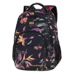 f4d09345faec8 BASIC PLUS Plecak do szkoły CoolPack CP - dla dziewczyny ogniste wrzosowe  lilie rajskie ptaki i