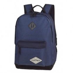 e729e7b6a6b7c Plecak szkolny CoolPack CP SCOUT SHABBY NAVY brudny granat na laptop A117