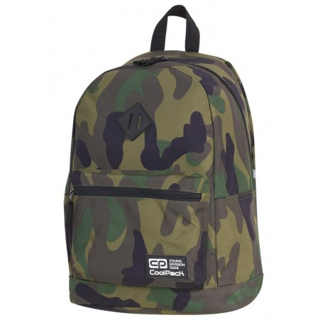 Plecak miejski CoolPack CP CROSS EVA CAMOUFLAGE CLASSIC moro A387 - Cool-pack.pl