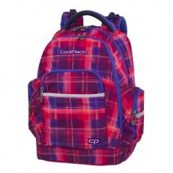 e81dbf8524a94 Plecak młodzieżowy CoolPack CP BRICK MELLOW PINK różowy w kratkę - A509