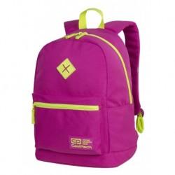 f2dd63d829984 Plecak miejski CoolPack CP CROSS EVA NEON PINK różowy z neonem - A452