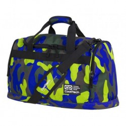 Torba sportowa CoolPack CP FITT CAMOUFLAGE LIME limonkowe moro - A350