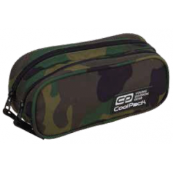Saszetka podwójna CoolPack CLEVER CAMOUFLAGE CLASSIC moro - A390