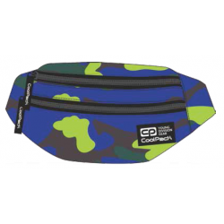 Saszetka nerka torba na pas CoolPack CP MADISON CAMOUFLAGE LIME A355