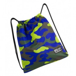 Worek na sznurkach / na buty CoolPack CP SPRINT CAMOUFLAGE LIME limonkowe moro - A353