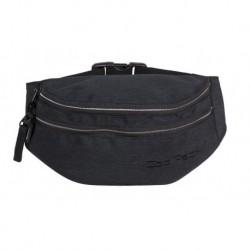 Saszetka nerka torba na pas CoolPack CP MADISON SNOW BLACK/SILVER