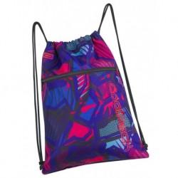 Worek na sznurkach / na buty CoolPack CP SHOE BAG CRAZY PINK ABSTRACT różowa abstrakcja A293