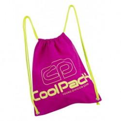 Worek na sznurkach / na buty CoolPack CP SPRINT NEON PINK różowy neon - A454