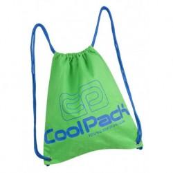 Worek na sznurkach / na buty CoolPack CP SPRINT NEON GREEN zielony neon - A463