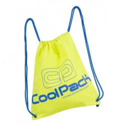 Worek na sznurkach / na buty CoolPack CP SPRINT NEON YELLOW żółty neon - A460