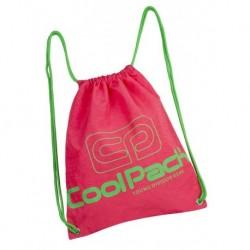 Worek na sznurkach / na buty CoolPack CP SPRINT NEON RUBIN malinowy neon - A466