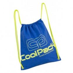 Worek na sznurkach / na buty CoolPack CP SPRINT NEON BLUE niebieski neon - A451