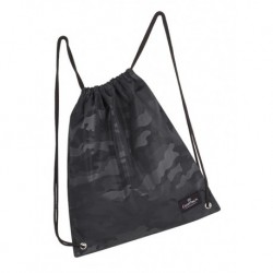Worek na sznurkach / na buty CoolPack CP SPRINT CAMO BLACK czarne moro - A563