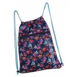 Worek na sznurkach / na buty CoolPack CP SHOE BAG TROPICAL BLUISH kwiaty A231