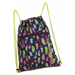 Worek na sznurkach / na buty CoolPack CP SHOE BAG FEATHERS piórka A239