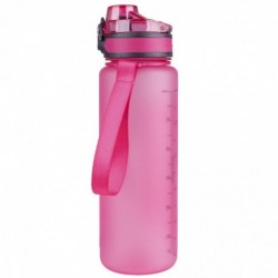 Bidon różowy Brisk 600ml satynowy BPA free CoolPack