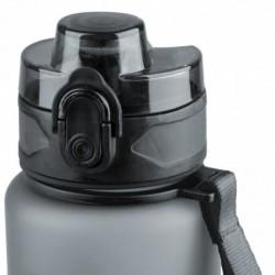 Bidon szary Brisk 600ml satynowy CoolPack BPA free