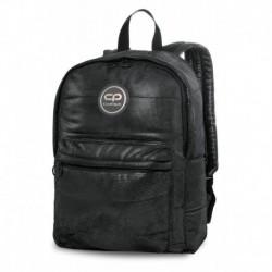 Plecak pikowany zimowy CoolPack CP RUBY BLACK GLAMOUR czarny błyszczący