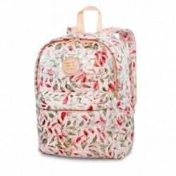 Plecak zimowy pikowany CoolPack CP RUBY FEATHERS BLUISH różowy w piórka