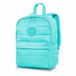 Mały plecak pikowany puchowy CoolPack CP ABBY SKY BLUE błękitny