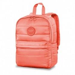 58285d78becb7 Mały plecak młodzieżowy pikowany CoolPack CP ABBY PEACH MELLOW  brzoskwiniowy zima