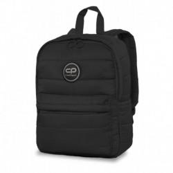 Plecak mały pikowany puchowy CoolPack CP ABBY BLACK czarny zimowa kolekcja