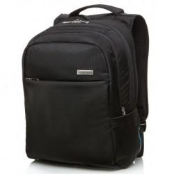 """Plecak na laptopa do 15,6"""" biznesowy CoolPack MIGHT BLACK czarny męski"""